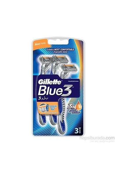 Gillette Blue3 Kullan At Tıraş Bıçağı 3'Lü