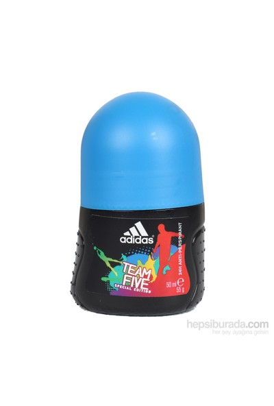 Adidas Team Five Roll On 50 Ml