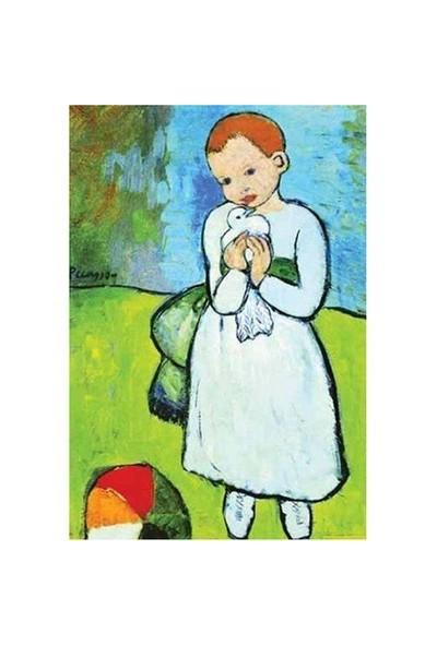 Ricordi Puzzle L'Enfant au Pigeon, 1901, Pablo Picasso (2000 Parça)