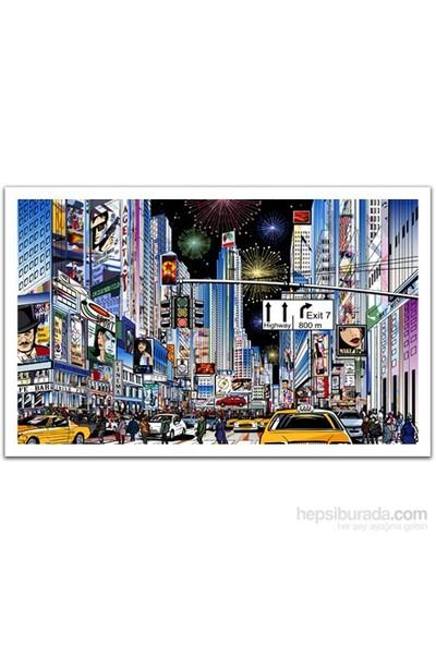 Pintoo New York Times Meydanı - 1000 Parça Puzzle