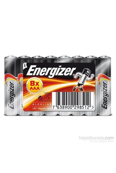 Energizer (D24-8512) Base Alkalin AAA Kalem Pil 8'li Shirink