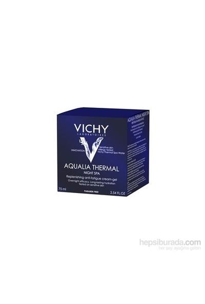 Vichy Aqualia Thermal Night Spa Yenileyici Ve Yorgunluk Karşıtı Krem Jel