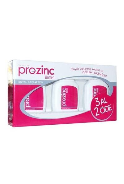 Prozinc Women Kırmızı Set Şampuan 300 ml - 3 AL 2 ÖDE