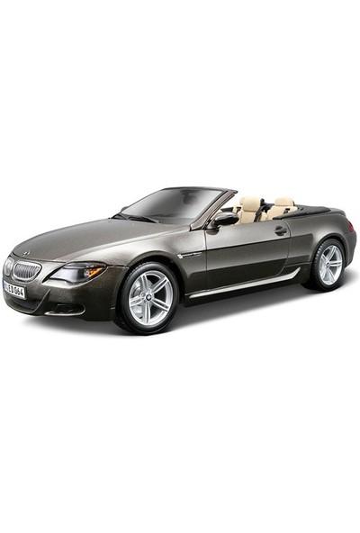 Maisto Bmw M6 Cabriolet 1:18 Model Araba S/E Gri