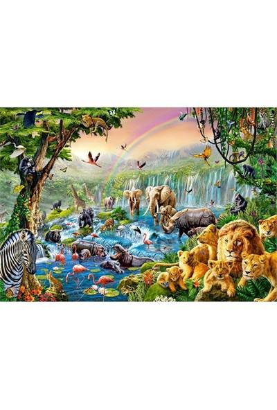 Castorland 500 Parça Puzzle Jungle River