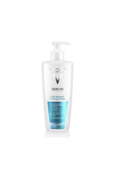 Vichy Dercos Ultra Soothing Şampuan Saç Derisini Yatıştırıcı Kuru Saçlar 400 ml