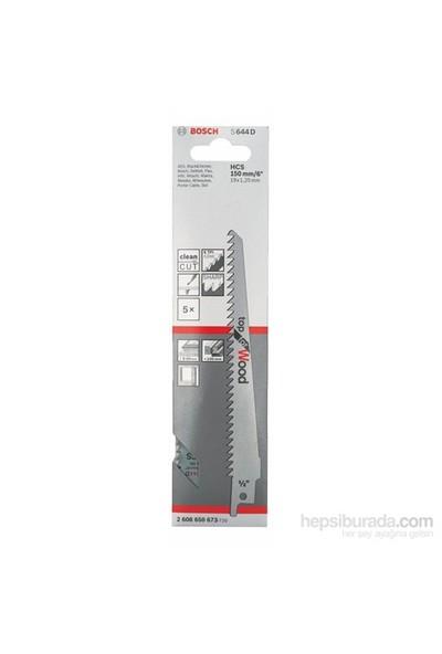 Bosch - Top Serisi Ahşap İçin Tilki Kuyruğu Bıçağı S 644 D - 5'Li Paket