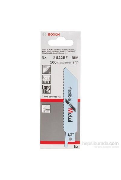 Bosch - Flexible Serisi Metal İçin Tilki Kuyruğu Bıçağı S 522 Bf - 5'Li Paket