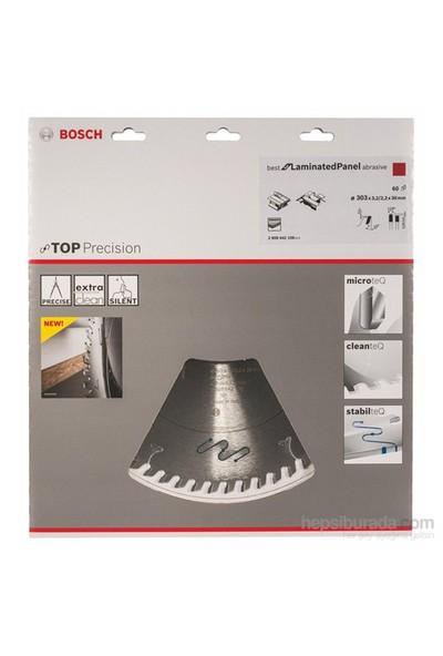 Bosch - Best Serisi Hassas Kesim Aşındırıcı Kaplamalı Lamine Panel İçin Daire Testere Bıçağı - 303 X 30 X 3,2 Mm, 60 Diş