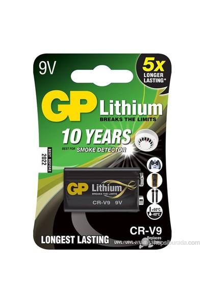GP Tekli CR-V9 9V Kare Lityum Pil (GPCR-V9-U1)
