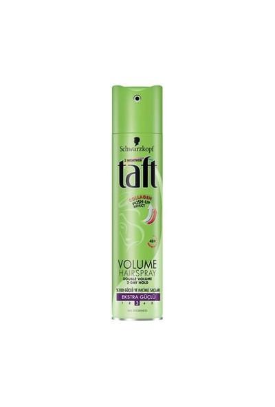 Taft Volumen Ekstra Hacim Yeşil Sprey 250 Ml