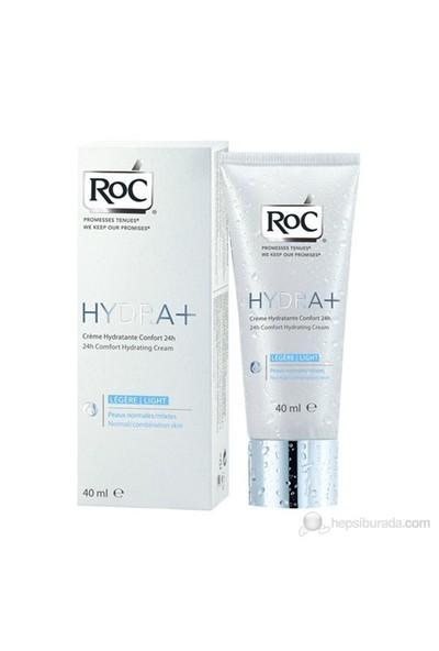 Roc Hydra+24H Comfort Hydratıng Lıght Cream 40Ml