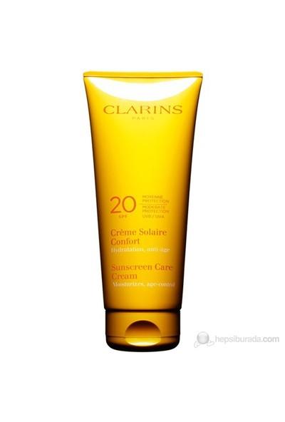 Clarins Creme Solaire Confort Spf 20 200 Ml