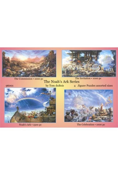 Sunsout Puzzle Noahs Ark Series (1000 Parça)