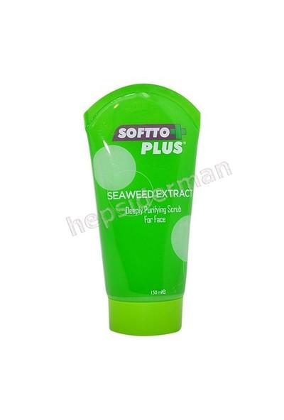Softto Plus Deniz Yosunu Özlü Arındırıcı Peeling