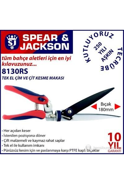 Spear And Jackson 8130Rs Tek El Çim Ve Çit Kesme Makası
