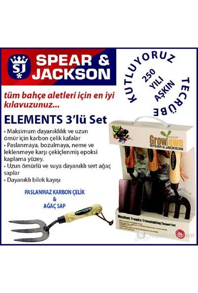 Spear And Jackson Elements3ps Bahçe Küreği Seti 3 Parça