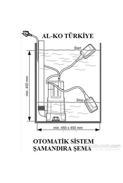 Al-ko Sub 12000 Ds Drenaj Dalgıç Pompa