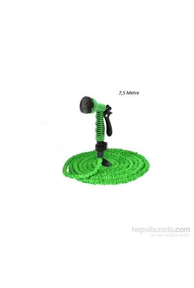 Magic Hose Uzayan Sihirli Hortum (Yeşil) 7,5 Metre (Sulama Tabancası Dahil)