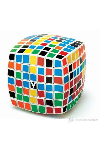 V-Cube 7 Beyaz Yastık Küp