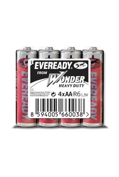 Energizer (C7-9956) Eveready Çinko Karbon Aaa İnce Kalem Pil 4Lü Shrink
