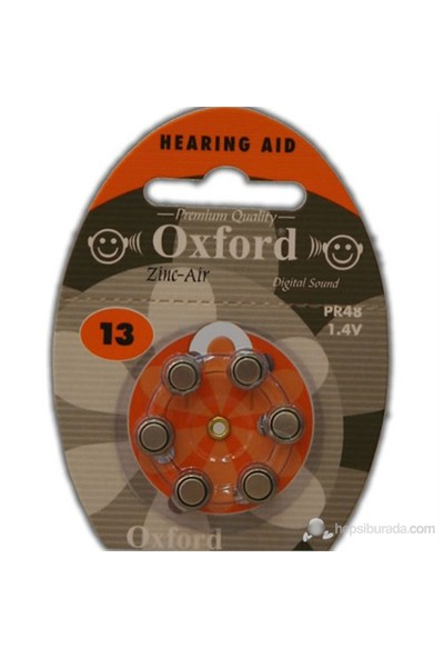 Oxford PR48 6'lı Kulaklık Pili No:13