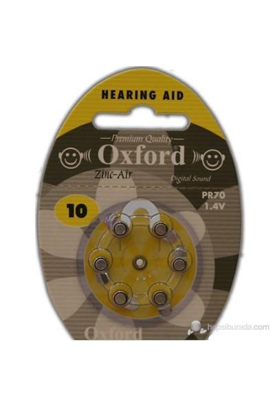 Oxford PR70 6'lı Kulaklık Pili No:10