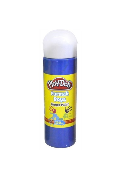 Play-Doh 250 Ml Parmak Boyası(Tüp)Mavi Play-Pr004