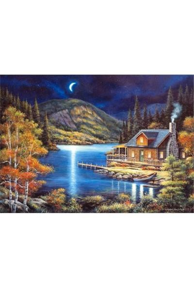 Castorland 1000 Parça Mehtaplı Bir Gece Puzzle