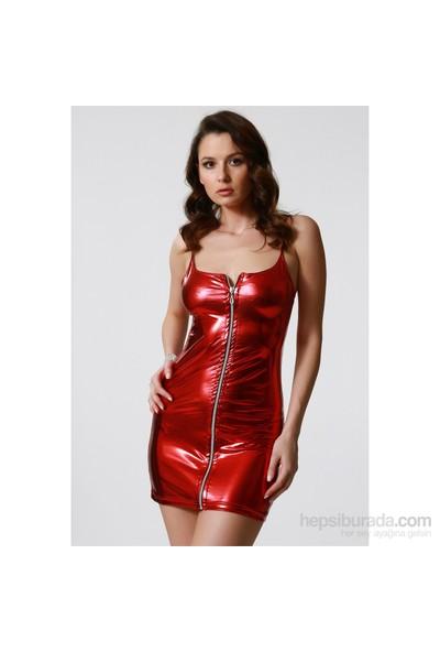 Terry Pau Tp100855 Önden Fermuarlı Elbise