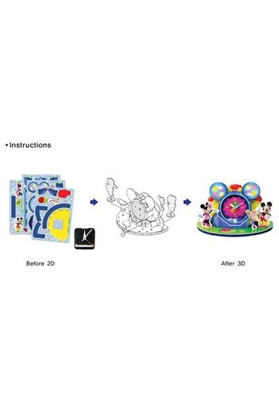 Scholas 3 Boyutlu Puzzle Maket Clubhouse Clock