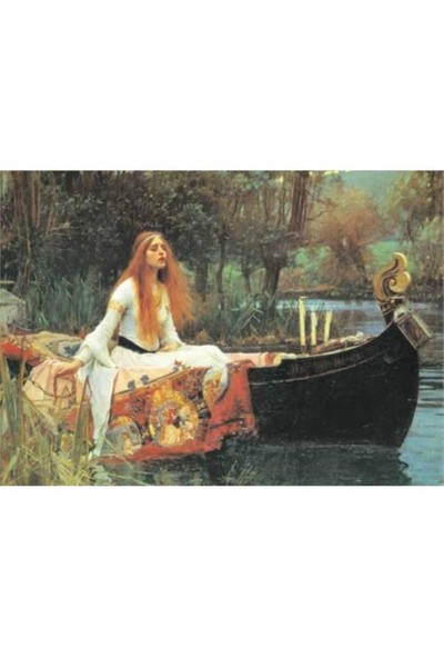 KS Games Puzzle The Lady Of Shalott (1000 Parça)