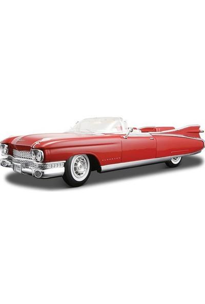 Maisto Cadillac Eldorado Diecast Model Araba 1:18 Premiere Edition Kırmızı