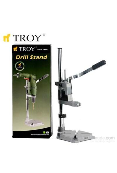 Troy 90007 Ayarlanabilir Matkap Tezgahı (420Mm)