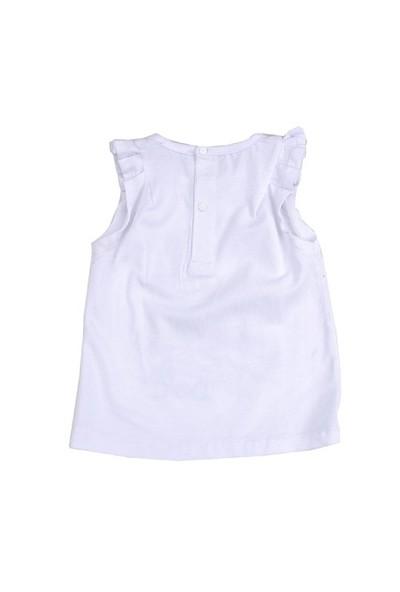 Zeyland Kız Çocuk Beyaz Atlet K-41M682fmt52