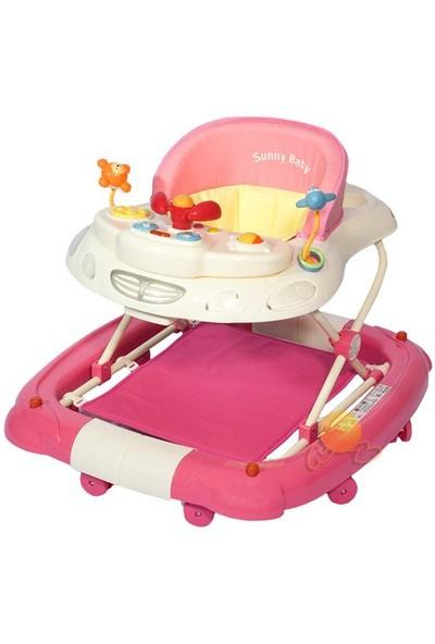 Sunny Baby Yürüteç Tender SB-1083 (pembe)