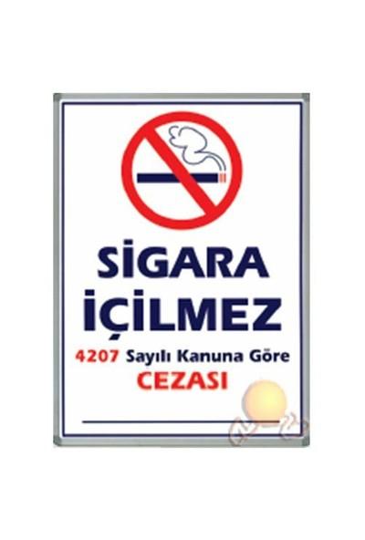 İnter Lüx Alüminyum Çerçeveli Sigara İçilmez Panosu 50 x 70 INT-711-1
