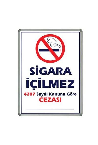 İnter 50x70 Sigara İçilmez Lamine Çerçeveli INT-711-1L