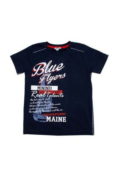 Zeyland Erkek Çocuk Lacivert Tshirt K-51M663ecf55