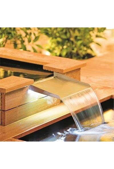 Heıssner Süs Havuzları İçin Işıklı Şelale Ağzı 30X25