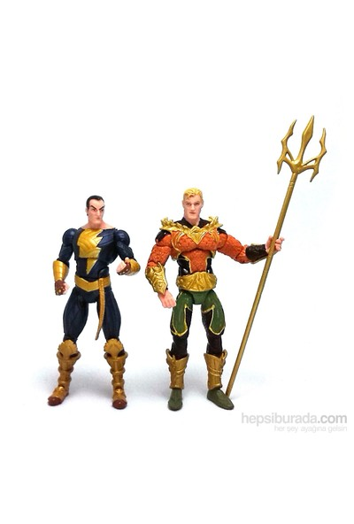 Injustice: Aquaman Vs Black Adam Action Figure