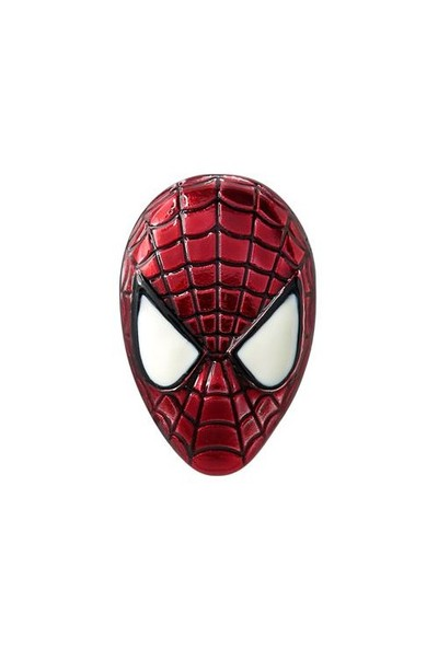 Spider-Man Maske Pin (Renkli)