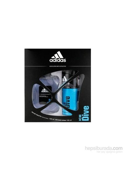 Adidas Edt 100 Ml Parfüm + Man Ice Dive Deodorant Set