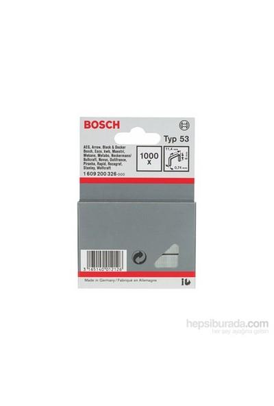 Bosch - İnce Zımba Teli Tip 53 - 11,4 X 0,74 X 6 Mm