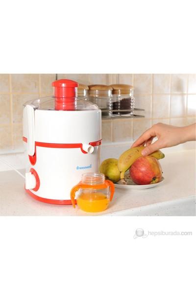 Weewell Çok Amaçlı Beslenme Robotu - Katı meyve sıkacağı - Doğrayıcı - Öğütücü - Blender