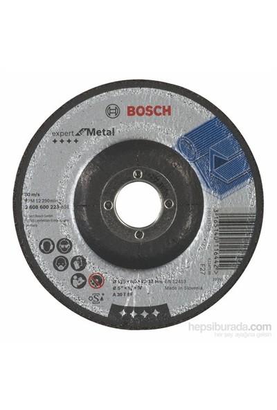 Bosch - Expert Serisi Metal İçin Bombeli Taşlama Diski (Taş) - A 30 T Bf, 125 Mm, 6,0 Mm