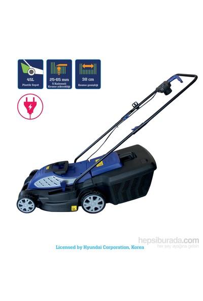 Hyundai C3805 Elektrikli Çim Biçme Makinesi 1600W
