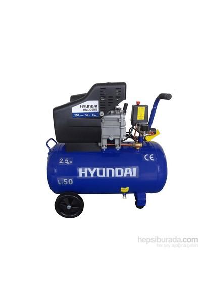 Hyundai HM2050 Kompresör 2,5Hp, 50Lt