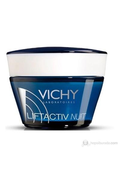 Vichy Liftactiv Supreme Kırışıklık Karşıtı Gece Bakım Kremi 50 ml