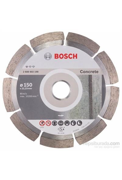 Bosch - Standard Seri Beton İçin Elmas Kesme Diski - 150 X 22,23 X 2 X 10 Mm